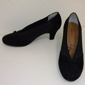 Black Pumps Comfortble Business Dress Shoe 6.5